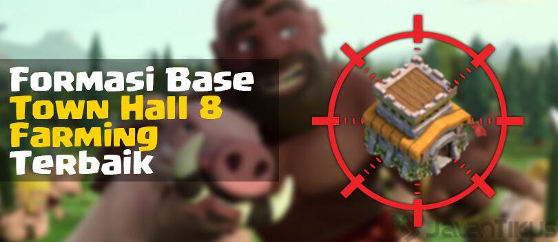 Kumpulan Formasi Base Town Hall 8 Farming Clash of Clans Terbaik