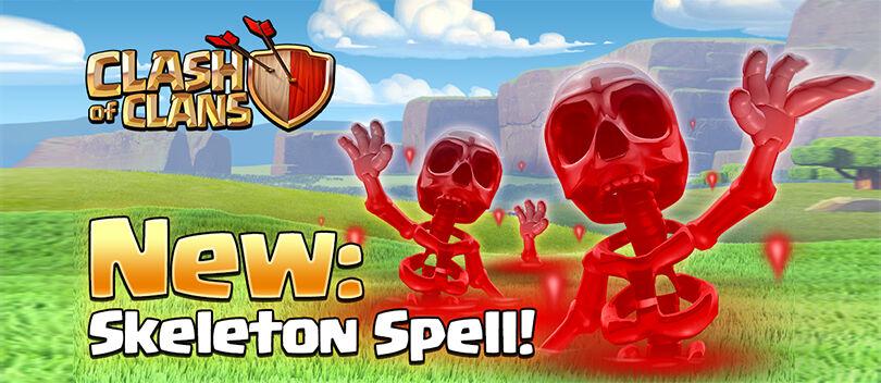 Update COC Mei 2016: Spell Baru, Skeleton Spell