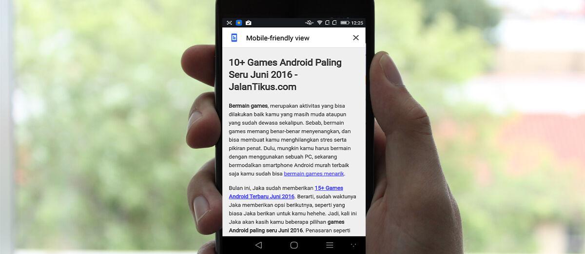 Cara Mudah Mengaktifkan Reader Mode di Google Chrome Android