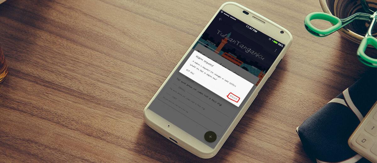Cara Jadikan Tulisan Tangan Sendiri Jadi Font di Android