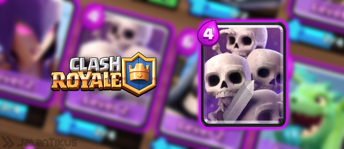Kombinasi Battle Deck Skeleton Army Terbaik di Clash Royale