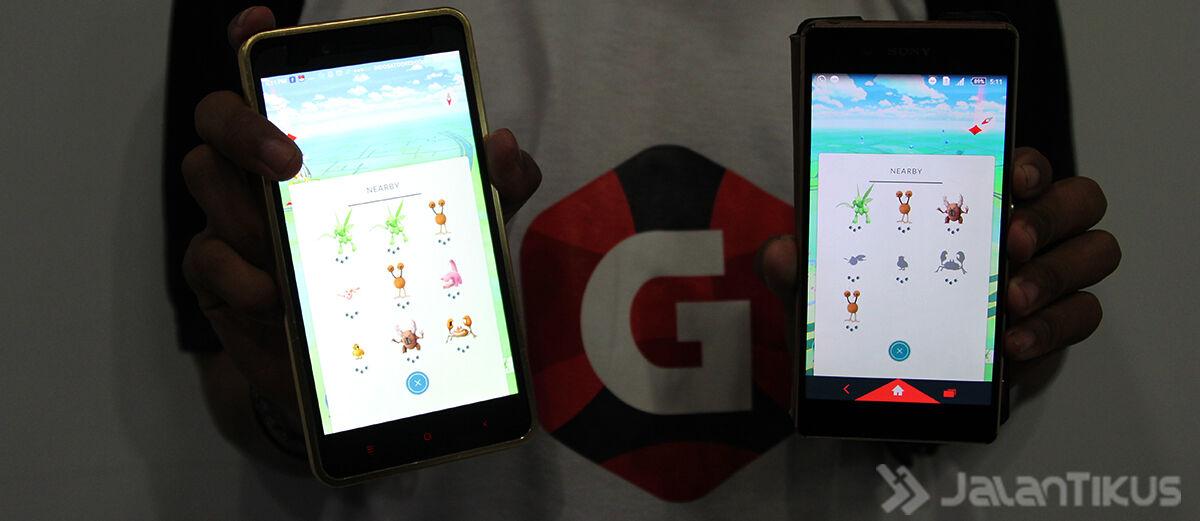 Cara Membaca Nearby Saat Main Pokemon GO!