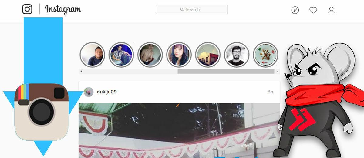 Cara Download Foto dan Video di Instagram Stories