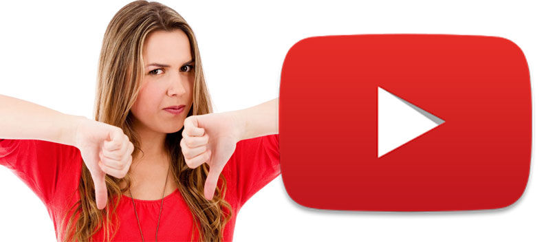 WOW! Ternyata ini 10 Video YouTube dengan DISLIKE Terbanyak