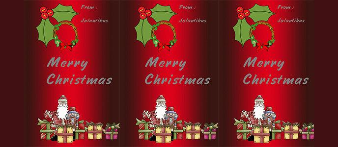 Ayo Buat Kartu Natal dari Androidmu!