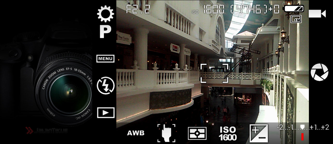 Ubah Kamera Smartphone Jadi Kamera SLR