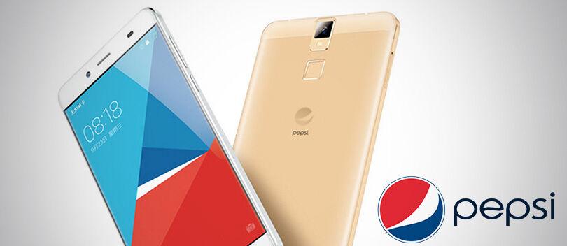 PEPSI Phone P1, Smartphone Harga 1 Jutaan dengan Sensor Sidik Jari