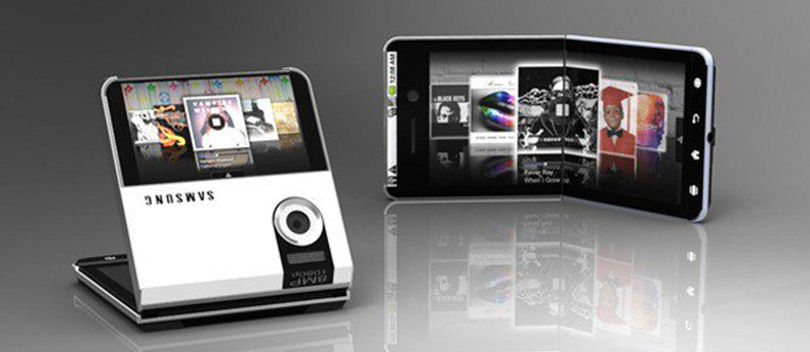 Samsung Akhirnya Mematenkan Tablet yang Dapat Dilipat Menjadi HP