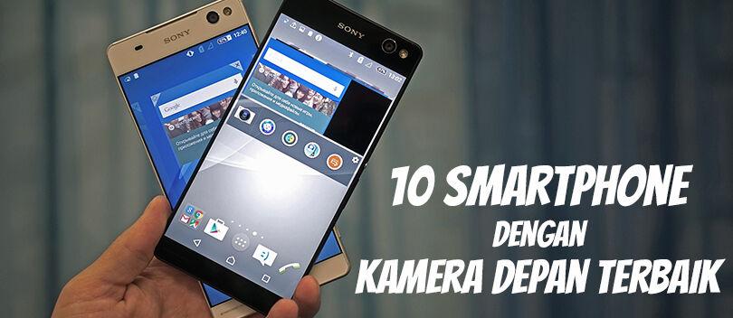10 Smartphone dengan Kamera Depan Terbaik Untuk Selfie