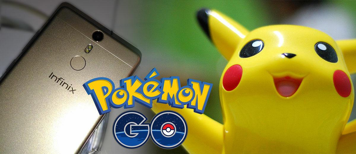 Harga Sejutaan Sudah Fingerprint, Smartphone Ini Cocok Untuk Main Pokemon GO