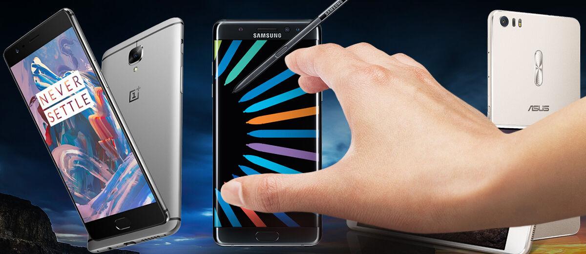 5 Smartphone Alternatif Terbaik yang Menyaingi Samsung Galaxy Note 7