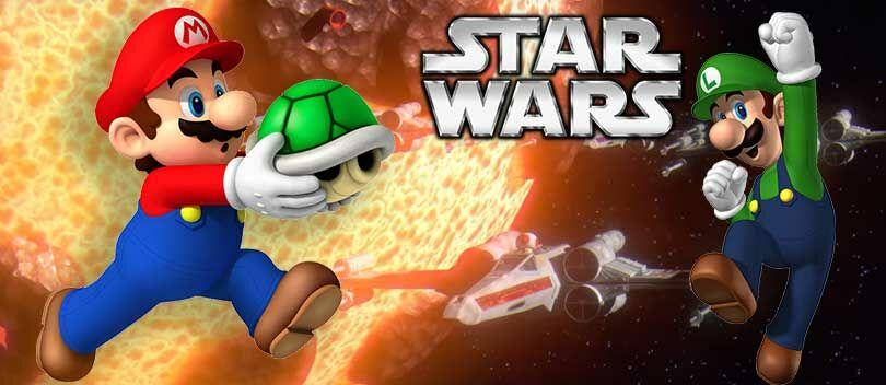 KEREN! Ini Jadinya Jika Super Mario Bros Dibuat Edisi Star Wars