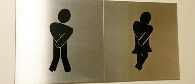 [UPDATE] 20 Foto Petunjuk Toilet Paling Kreatif yang Pernah Ada