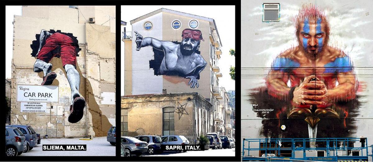 20 Gambar Graffiti Super Keren yang Pasti Bikin Kamu Takjub