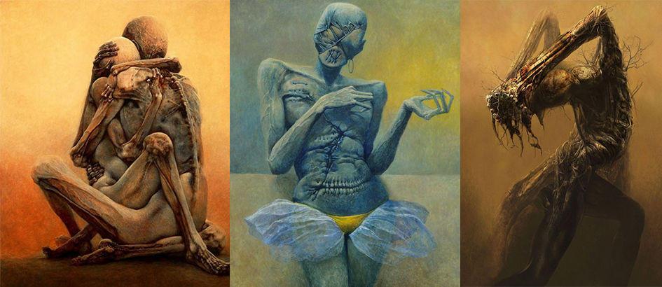 10 Karya Lukisan Menyeramkan yang Bikin Mimpi Jadi Sangat Buruk (Part 2)