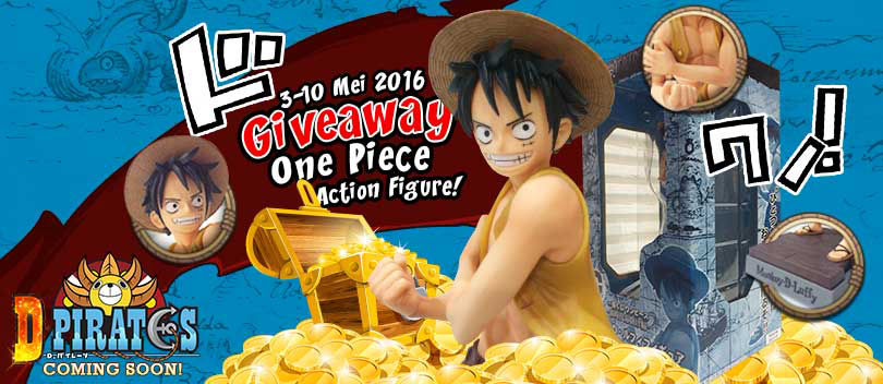 D! Pirates Bagi-bagi Action Figure One Piece Gratis!