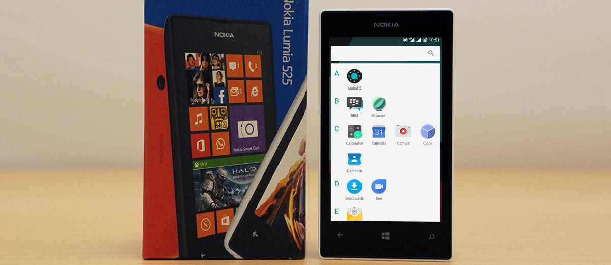 Lumia 525 Bisa Menggunakan Android Marshmallow, Ini Hasil Benchmarknya