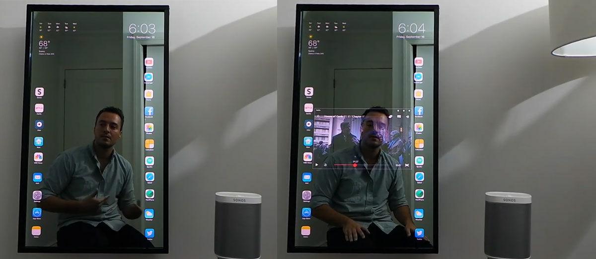 Apple Mirror, Cermin Ajaib yang Bisa Jadi iPhone
