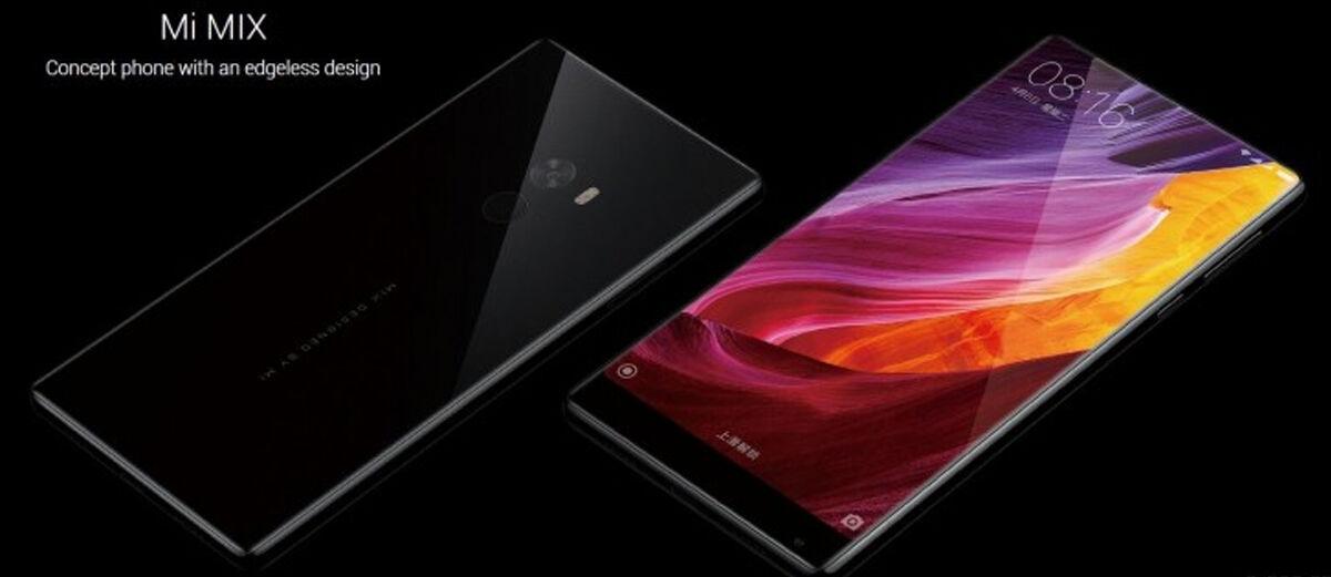Xiaomi Mi MIX, HP Tanpa Bezel dengan Spek Monster Cuma 6 Jutaan!