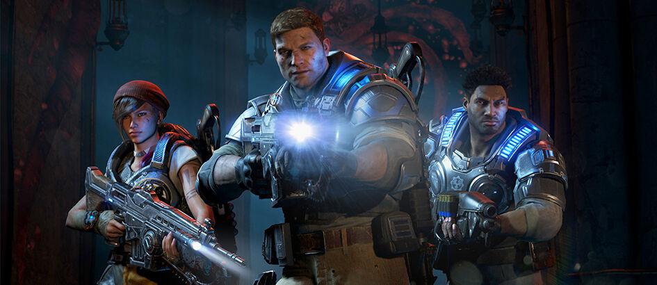 Gila, Update Game Gears Of War 4 250GB! Berani Download?