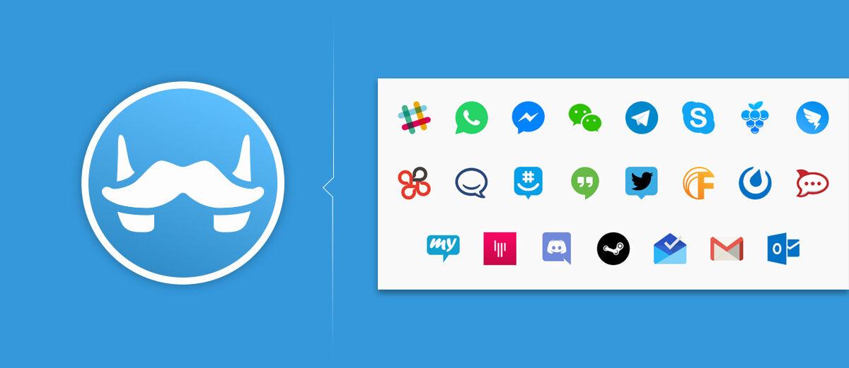 Franz, Software Untuk Gabungkan Semua Messenger Jadi Satu