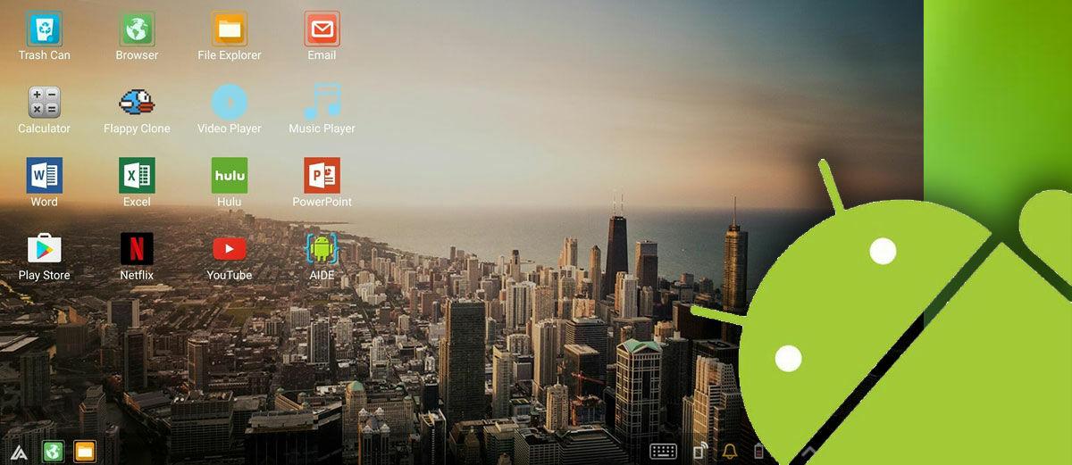 Cara Mengubah Tampilan Smartphone Android Jadi Seperti Komputer