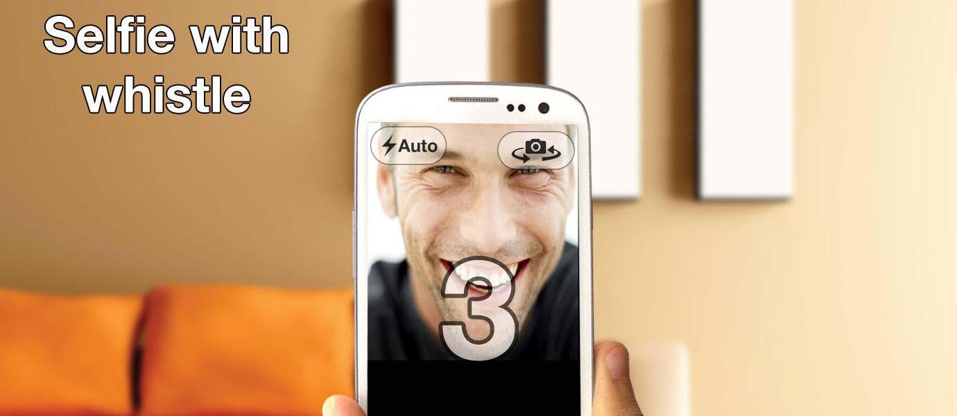 Sekarang Kamu Bisa Selfie dengan Android Sepuasnya Hanya dengan Bersiul Loh!!
