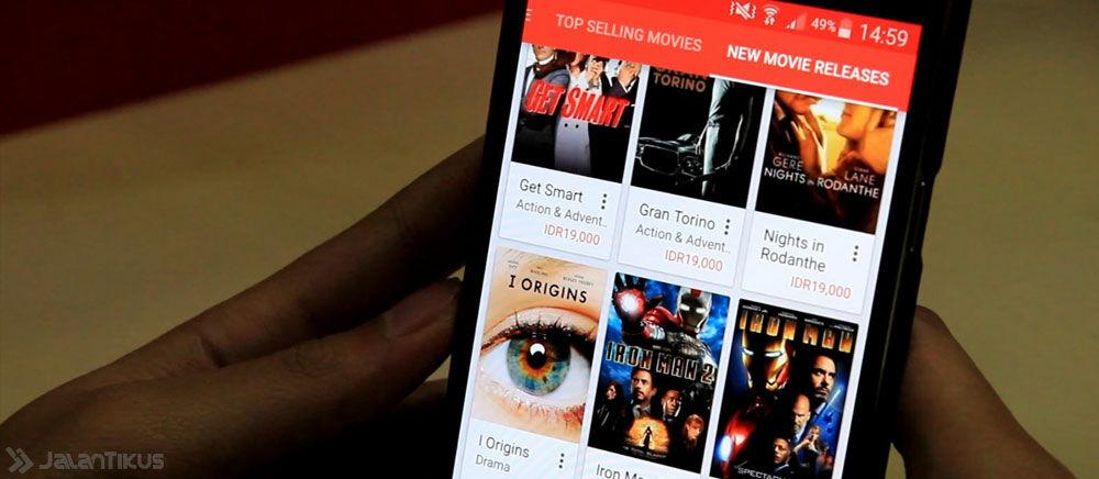 Tonton Ribuan Film Box Office Terbaru Langsung di HP Android Kamu Via Google Play