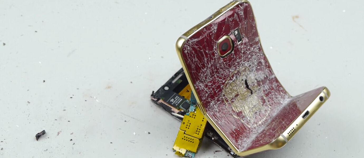 Video: Penghancuran Samsung Galaxy S6 Edge Iron Man Edition Seharga 40 Jutaan