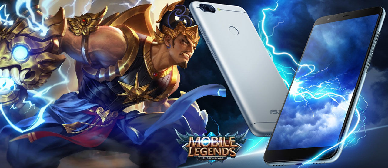 Smartphone untuk Main Mobile Legends? ASUS ZenFone Max Plus M1!