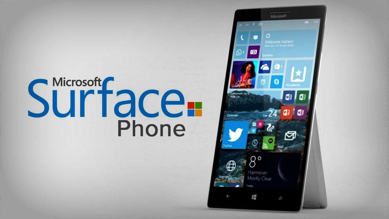 konsep Microsoft Surface Phone