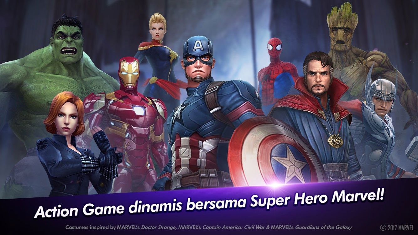 MARVEL Future Fight на андроид - top-android.org