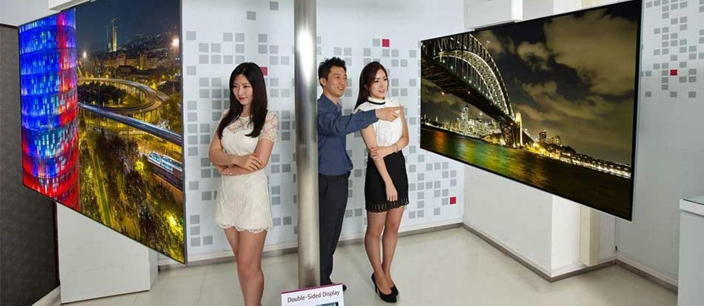 Nonton Bolak Balik Sekarang Bisa Pake OLED TV LG Dengan Layar Dua