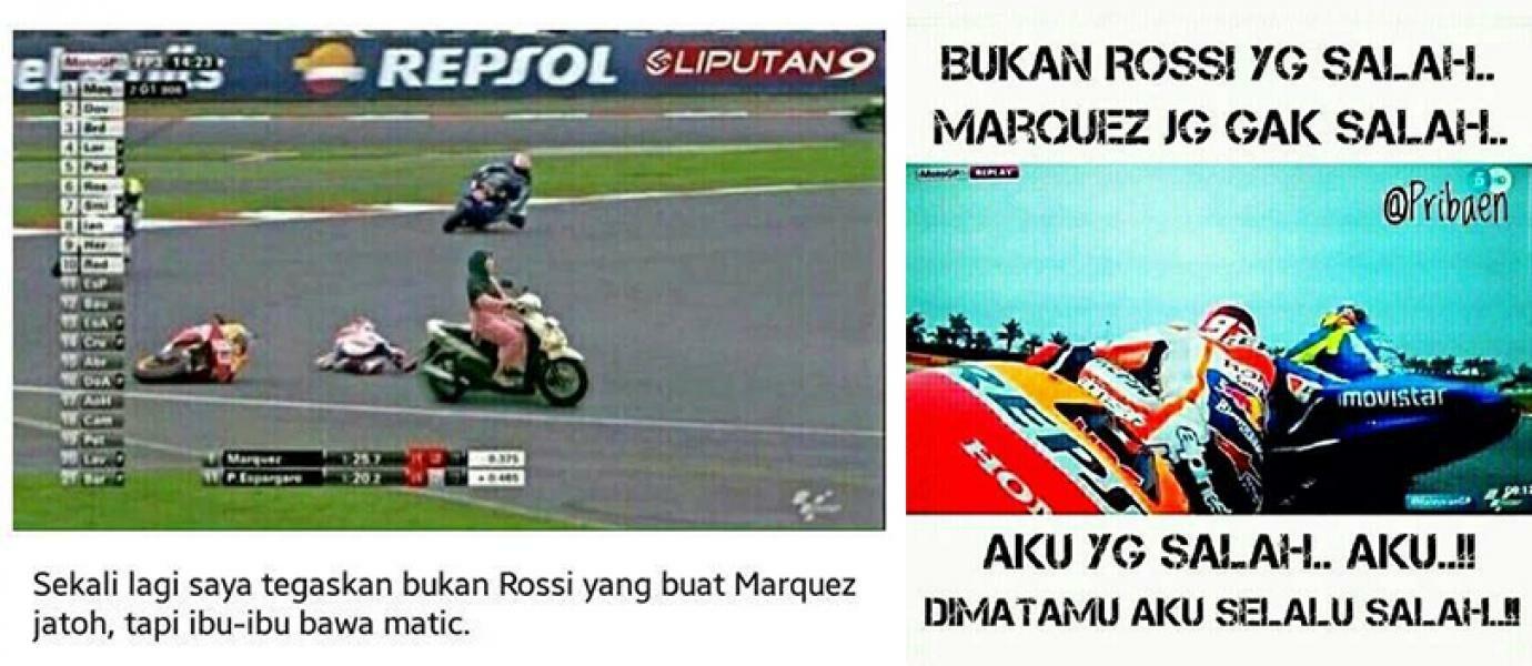 Apapun Yg Kau Cari FOTO LUCU MARQUES AND ROSSI 2015