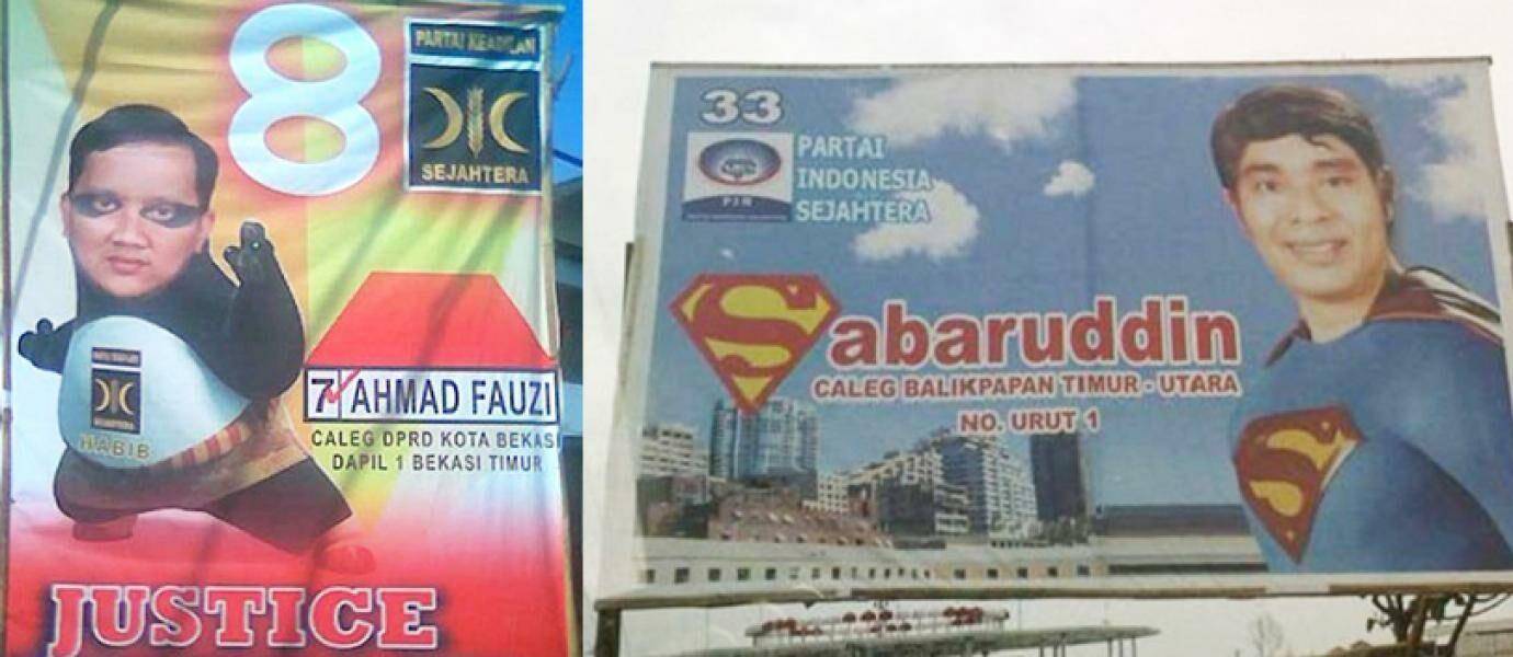20 Gambar Kampanye Paling Lucu, Kocak, dan Unik di Indonesia