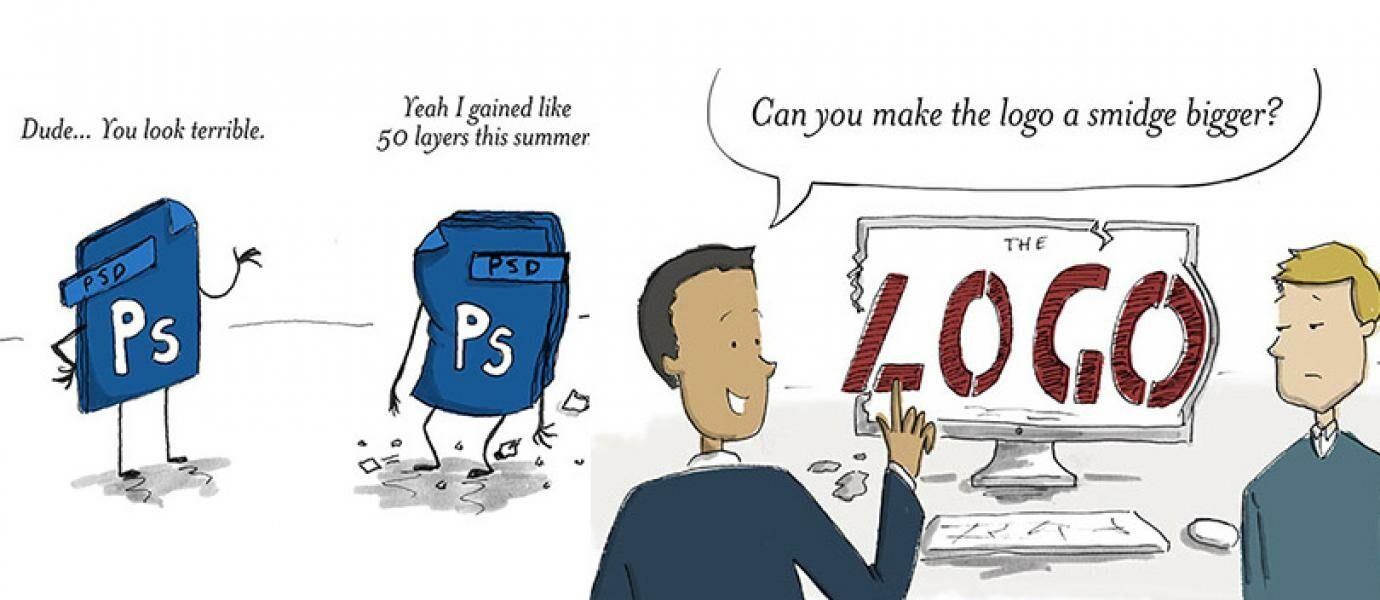 10 Komik Kocak Mengenai Masalah Umum yang Dialami Oleh Desainer Grafis