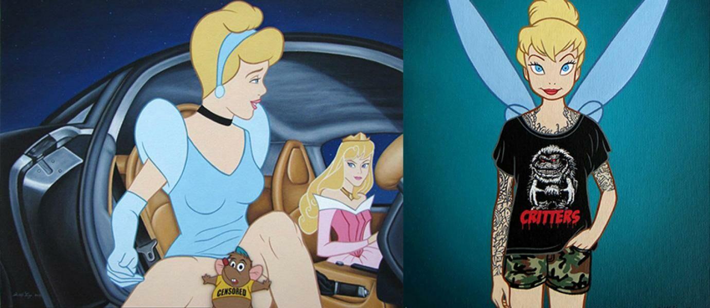 26 Ilustrasi Karakter Disney Ini Tidak Boleh Dilihat Anak Kecil