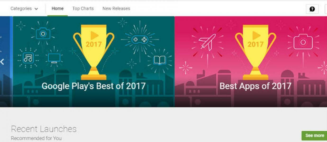 Keren! Ini Nih Daftar Aplikasi Terbaik Google Play 2017