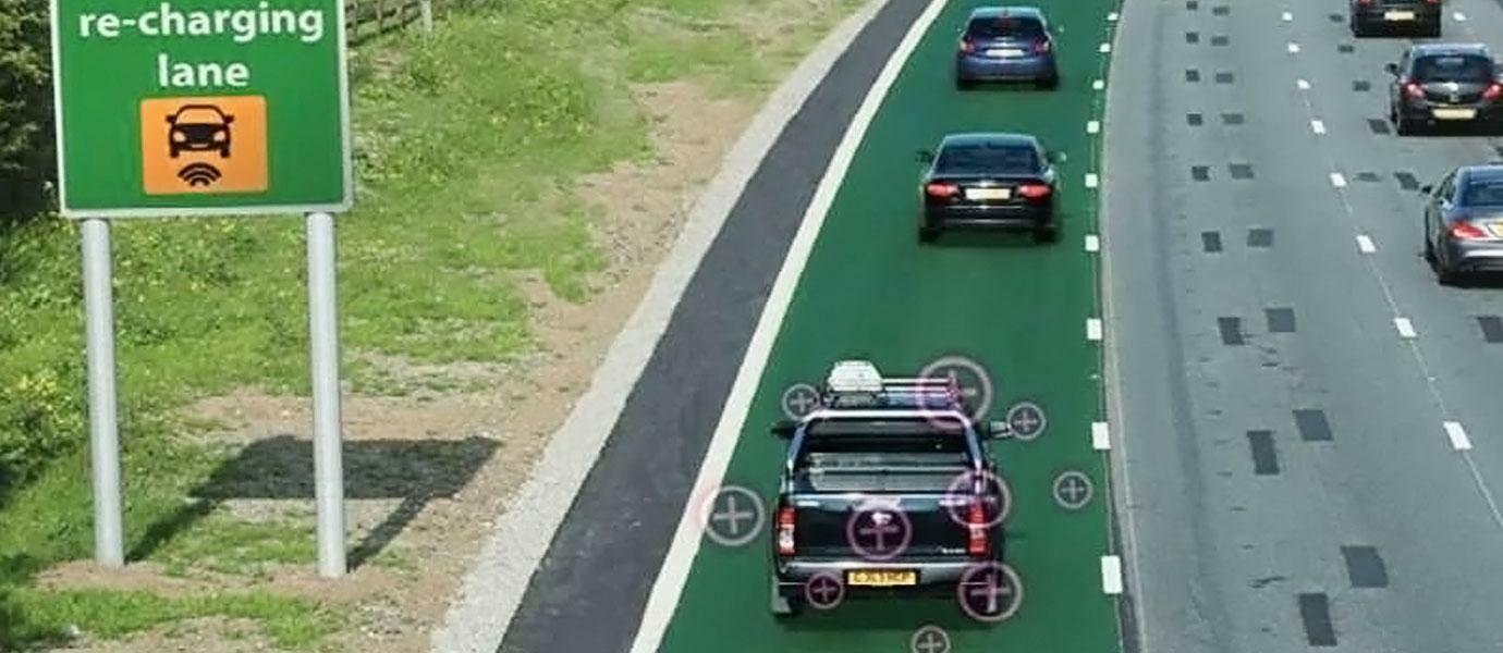 Jalanan Di Inggris Ini Bisa Ngecharge Mobil Jalanan Di Indonesia