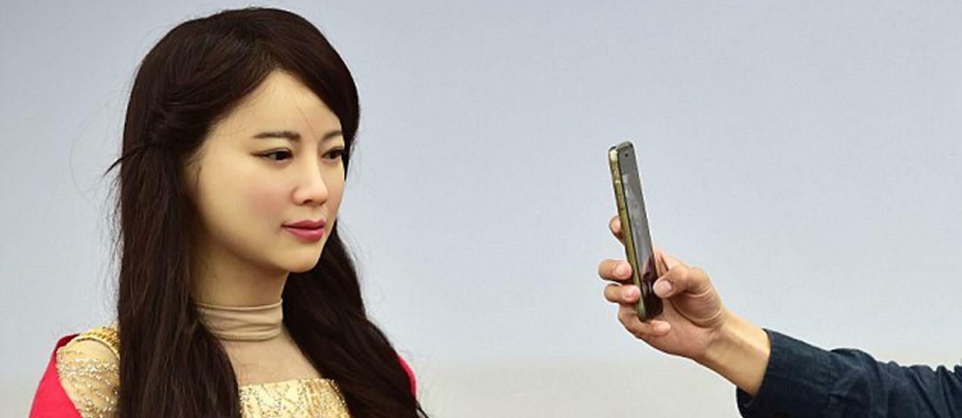 """Robot berparas menor buatan Tiongkok ini bernama """"JIA JIA"""""""