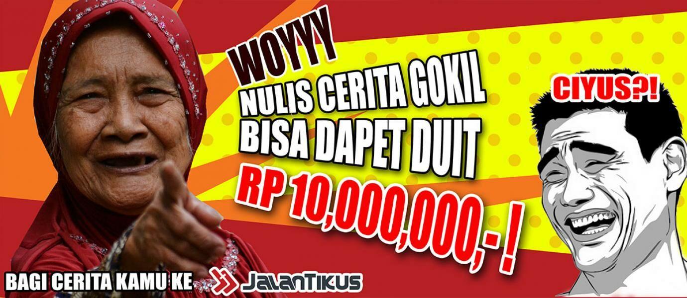 Pengumuman Pemenang Event THR GOKIL JalanTikus Periode 1