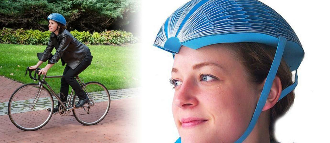 Keren Inilah Helm Sepeda Yang Bisa Dilipat JalanTikuscom