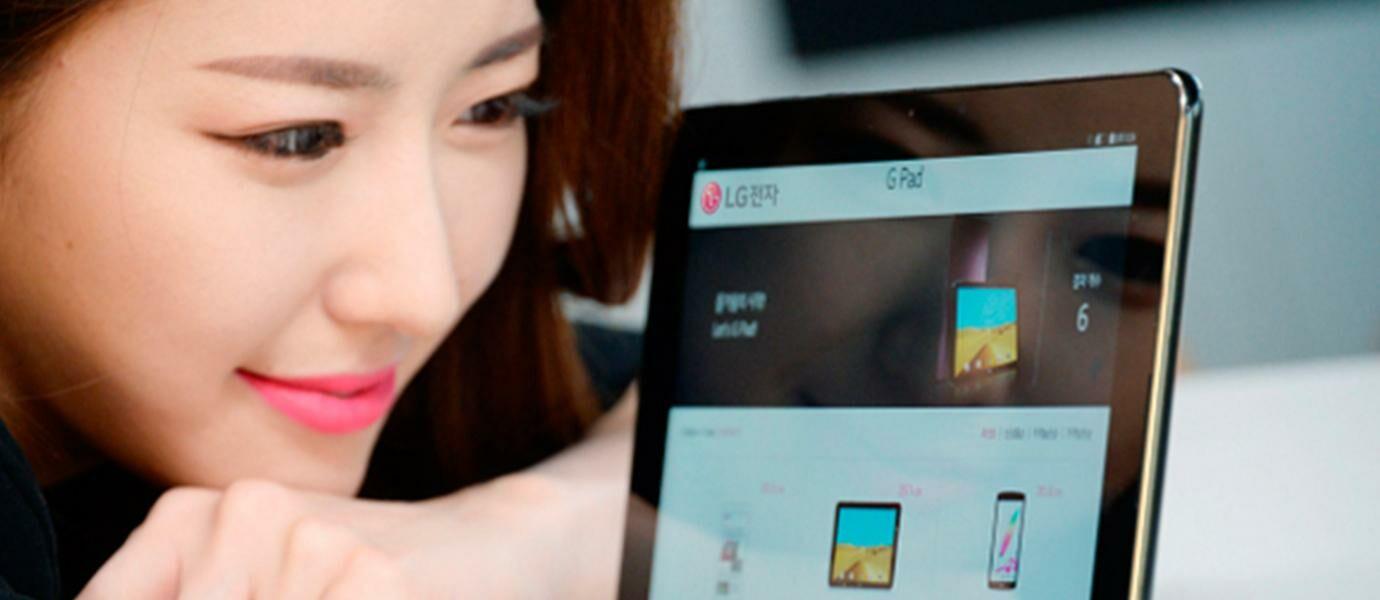 Resmi LG G Pad III 101 Tablet 4G LTE Dengan Baterai 7400 MAh