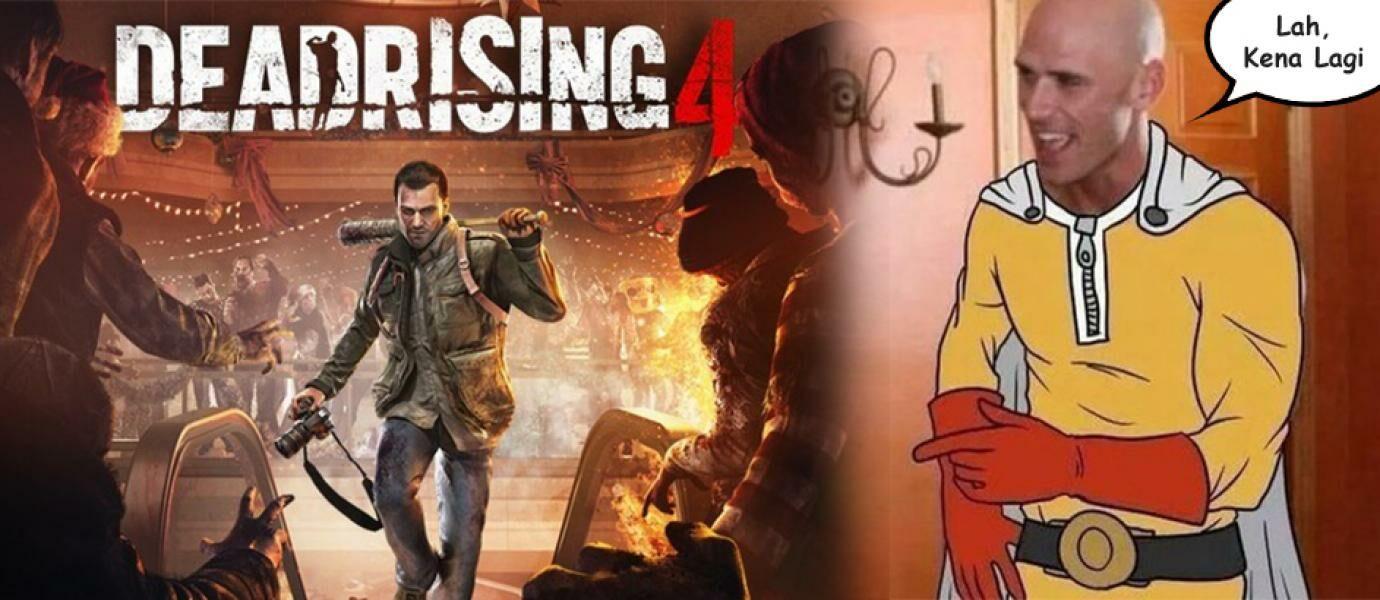 Si Botak Berbakat Kembali Beraksi, Game Ekslusif Dead Rising 4 di Bajak!
