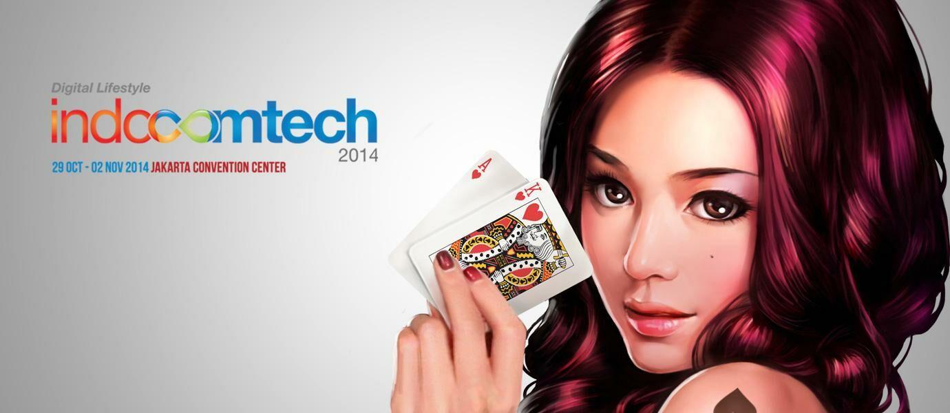 Dapatkan Tas Hadiah Dari Poker Texas Boyaa Di Indocomtech 2014