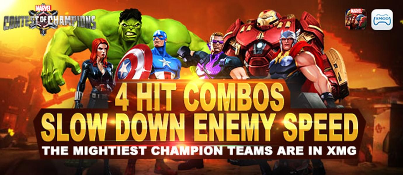 MOD Marvel Contest Of Champions Di Android Dengan Xmodgames