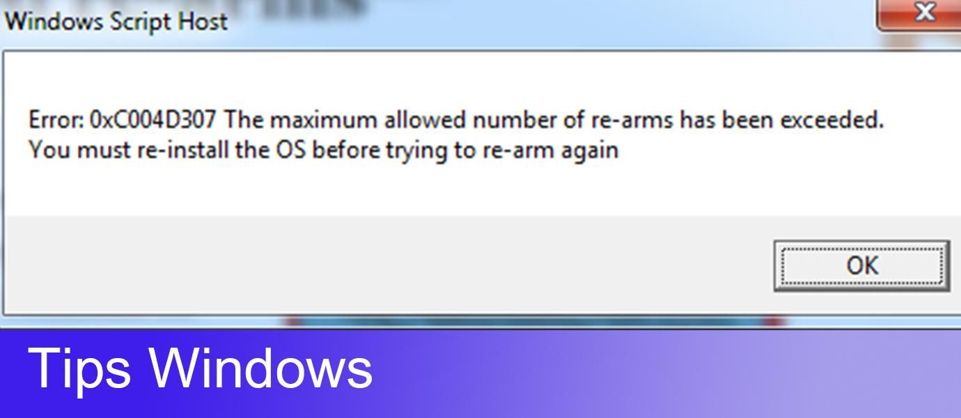 Cara Memperbaiki Error 0xc004d307 Rearm di Windows