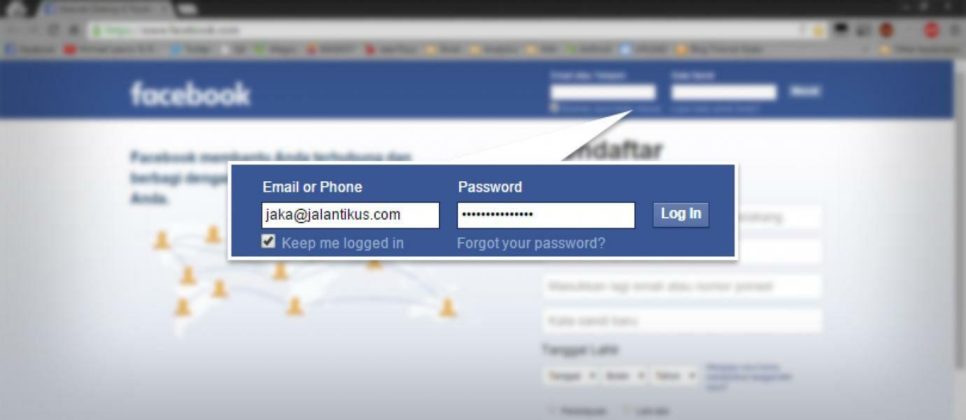 Cara Merekam Username dan Password Facebook Teman Kamu