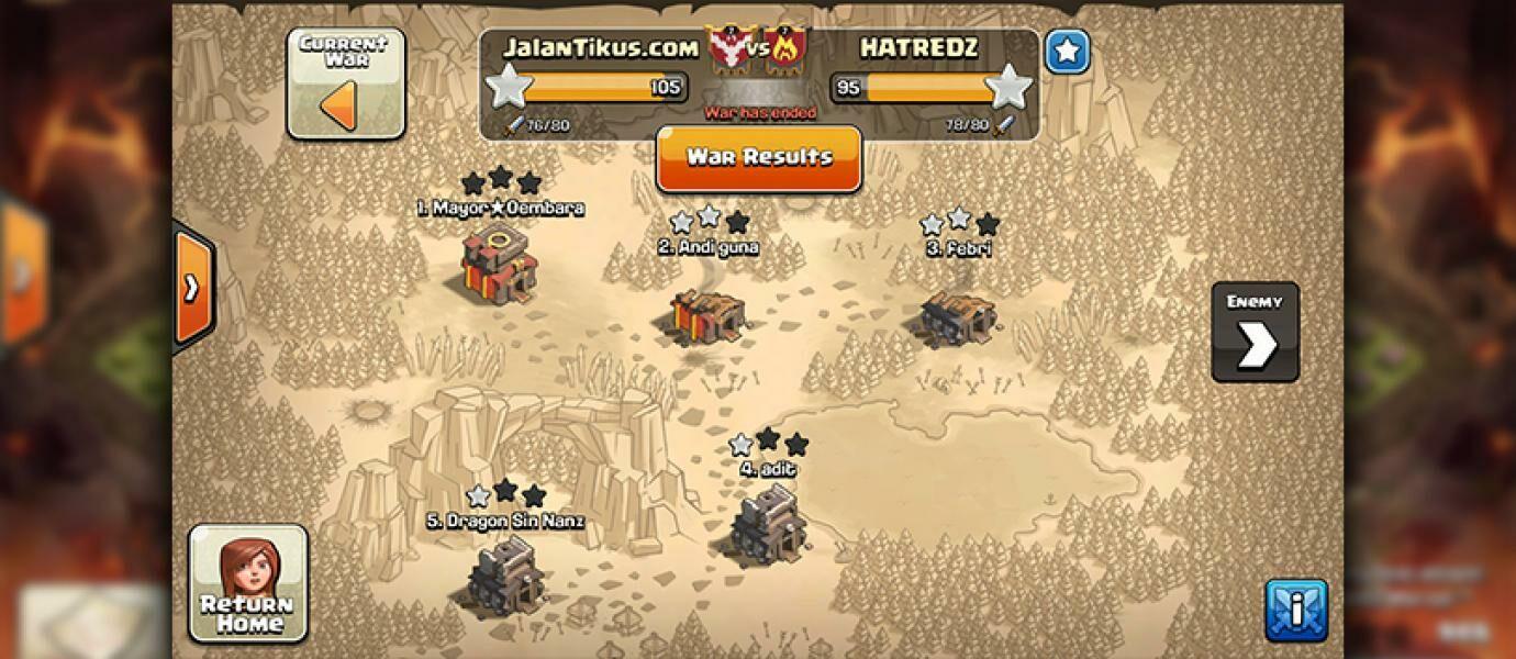 Formasi Base CLAN WAR Terbaik di CLASH OF CLANS Town Hall 1-10