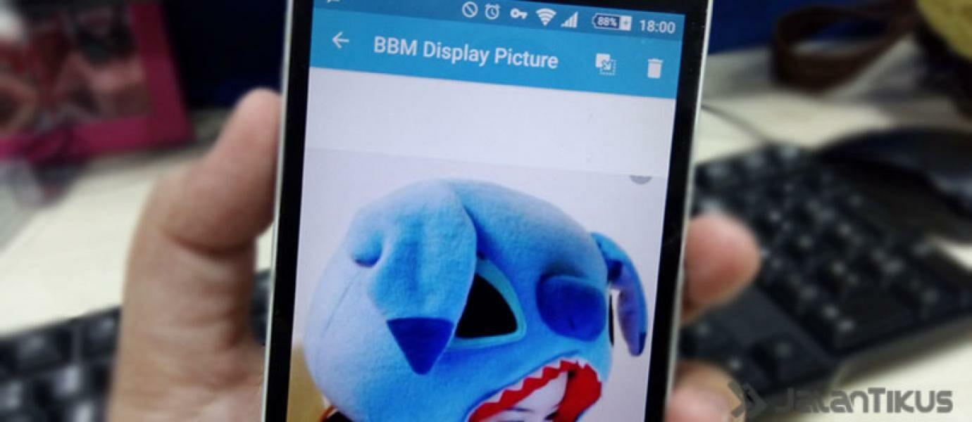 Cara Membuat Display Pictures BBM Tanpa Memotong Gambar Crop